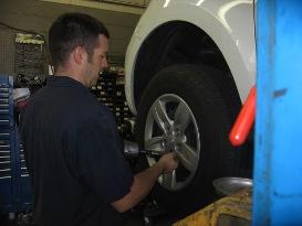 Tire Rotation and Balancing