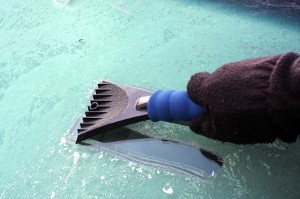 Winterizing A Car with Household Items