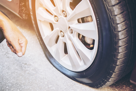 Why Your Car Tires Keep Going Flat