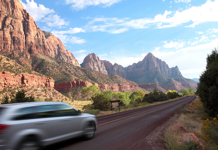 Mountain Driving - Why There's a Burning Smell Coming From Your Brakes